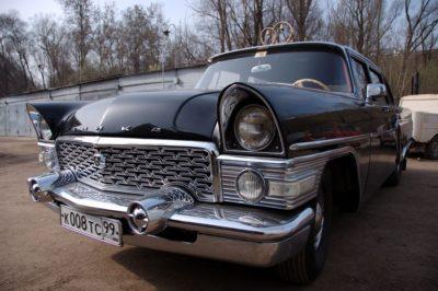 ГАЗ-13 ЧАЙКА черный