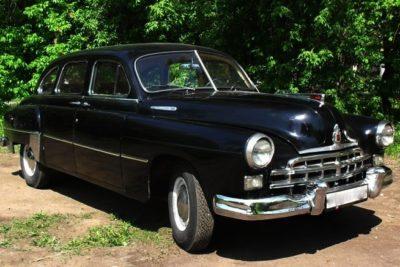 ГАЗ-12 ЗИМ (черный)